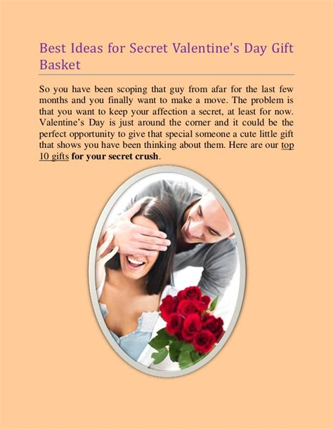 secret s day gifts s day gift basket ideas