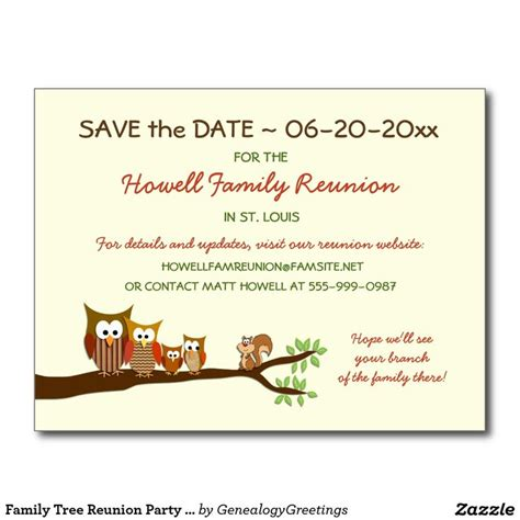 22 Best Images About Family Reunions Save The Date On Pinterest Reunions High School Reunion Save The Date Templates