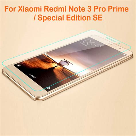 Tempered Glass Xiaumi Note 3 Note 3 Pro Screen Guard Protector 0 26mm tempered glass screen protector for xiaomi redmi note 3 pro prime special