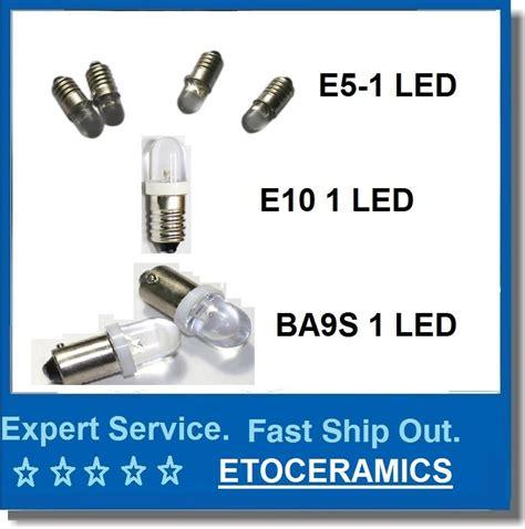 led replacement lamp e5 led light bulb e5 led miniature