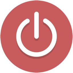 restart button for android power icon myiconfinder