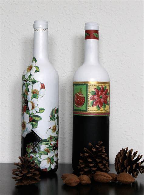 adornos de botella navidad imagenes ekeyart botellas decoradas para navidad