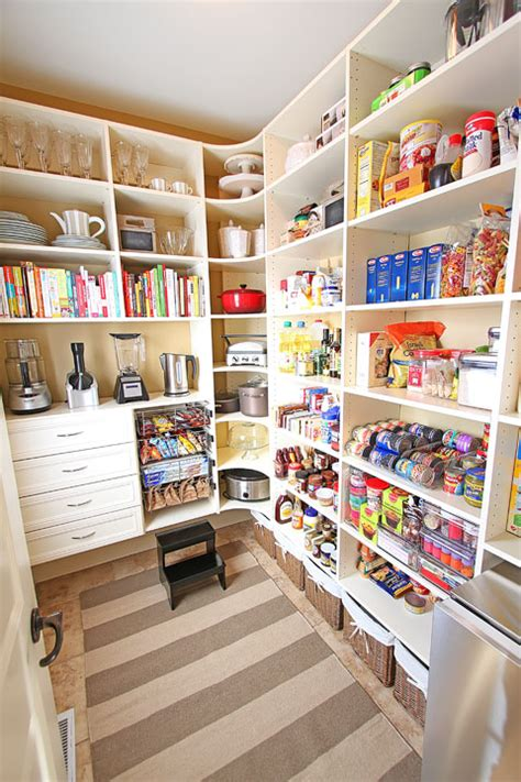 Pantry Room | new house tour pantry makeover before and after photos