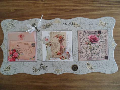 cuadro titulado cartas   amor tecnicas en sublimacion sobre azulejos  mixtas bien