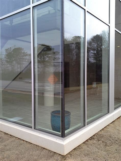 butt glazed curtain wall architectural glazing systems inc griffin georgia