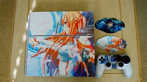 Ps4 Aufkleber Anime by Playstation 4 Ps4 Decal Skin Sticker Tutorial Sword