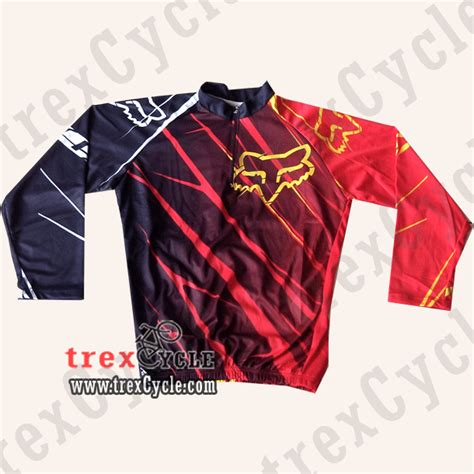 Keren Baju Kaos Fox Ym01 toko baju jersey sepeda jual jersey downhill fox dan
