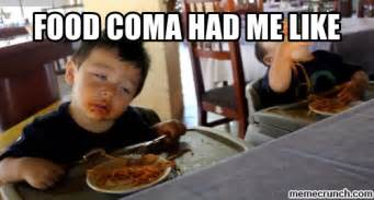 Food Meme - food coma