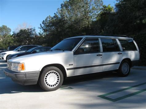 how petrol cars work 1992 volvo 740 electronic toll collection volvo 740 wagon 7 seats 4 cyl 96k california car 1 owner for sale volvo 740 1992 for sale