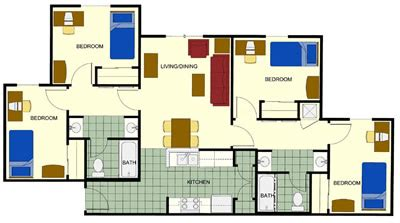 4 bedroom apartments in bangalore cheap 4 bedroom apartments home design