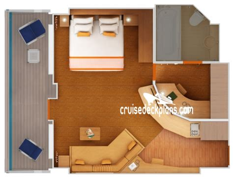 carnival cruise suites floor plan carnival glory grand suite category