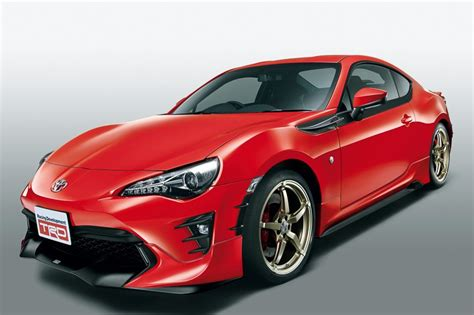 86 Toyota Parts Trd Releases Parts For 2017 Toyota Gt 86 In Japan