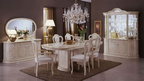 Lacquer Dining Room Furniture | milady italian lacquer dining set