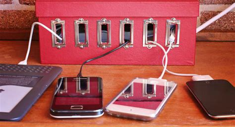 diy home charging station diy charging station home decorating trends homedit