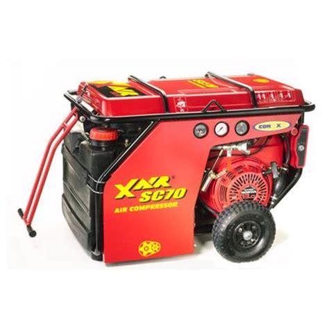 portable air compressor  cfm rental lou tec