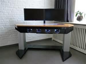 Custom computer desk case home design ideas
