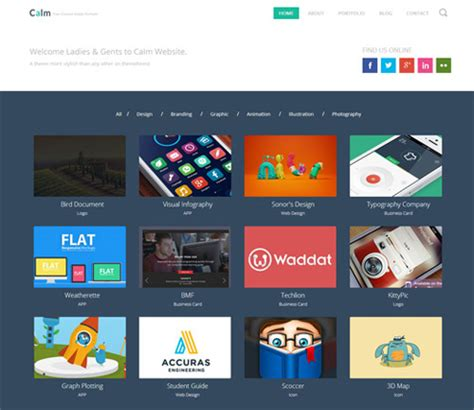 25 Free Html And Css Templates Of 2014 Html And Css Portfolio Template