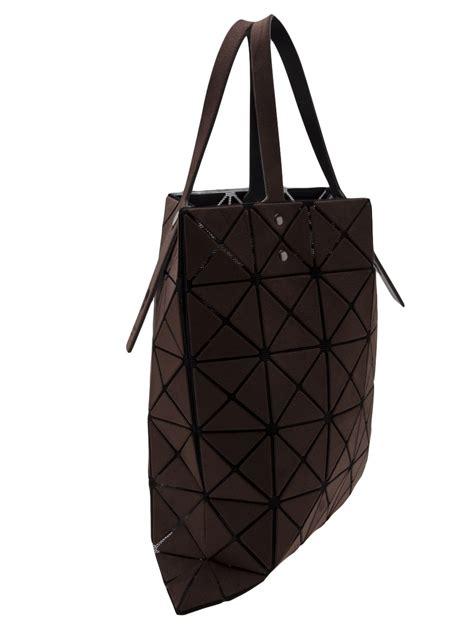 Bao Bao Bag lyst bao bao issey miyake prism tote bag in brown
