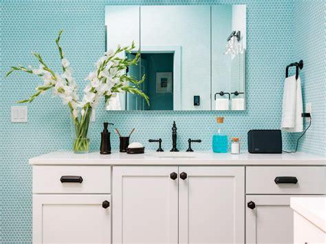 9 bathroom vanity ideas hgtv 9 bold bathroom tile designs hgtv s decorating design