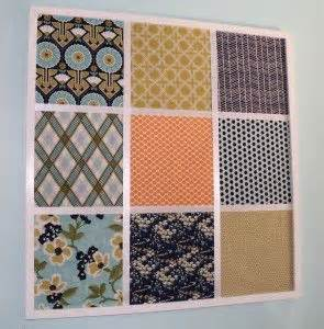 decorative bulletin boards for home this idea individual cork tiles wrapped in fabric to