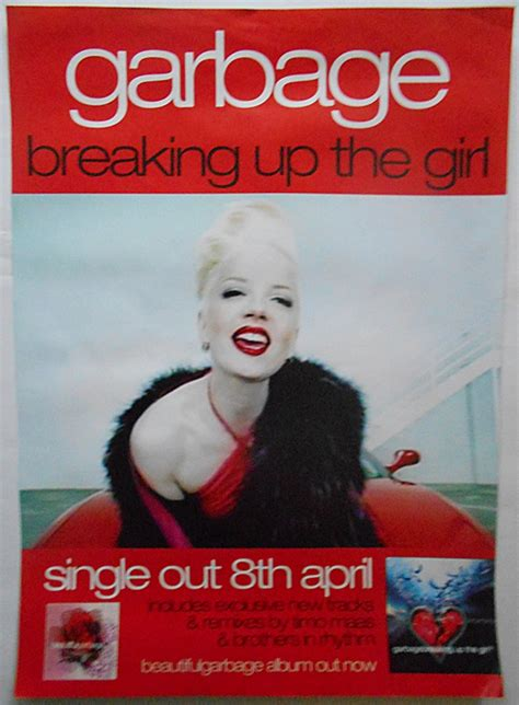 Shirley The Peta Postergirl by Garbage Shirley Breaking Up The Orig