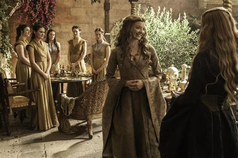 Natalie Dormer Of Thrones Natalie Dormer Lena Headey In Of Thrones Season 5