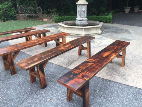 types of benches event hire big event picnic tables