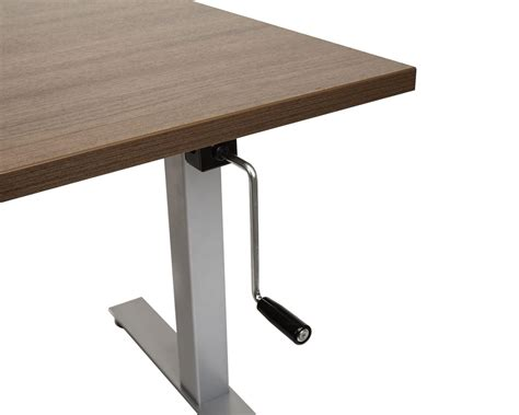 crank standing desk standing desk crank adjustable standing desk table