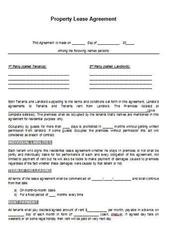 property contract template gallery bilateral contract exle