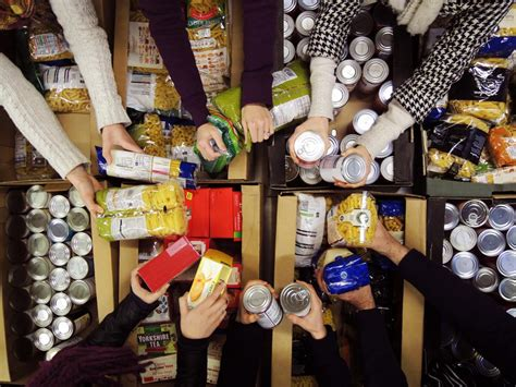 How To Get Food From A Food Pantry by Food Bank Use Is On The Rise With Austerity The Clear