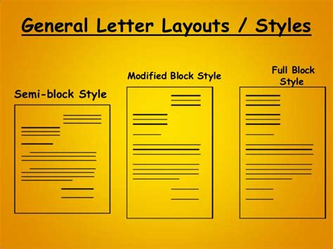 semi block indented format business letter letter writing business personal letter writing format