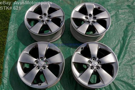 Toyota Prius C Alloy Wheels 2013 Toyota Prius V Hybrid 17 Quot Oem Factory Wheels Ebay