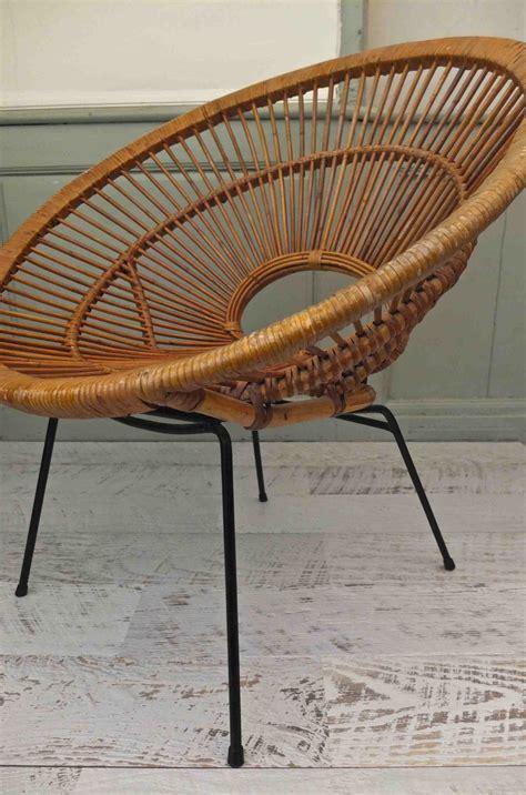 le en rotin le fauteuil en rotin march 233 de la mode vintage