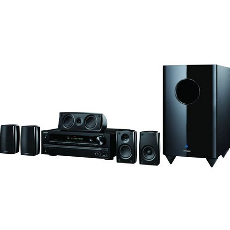 onkyo ht s6400 home theater system ht s6400 b h photo