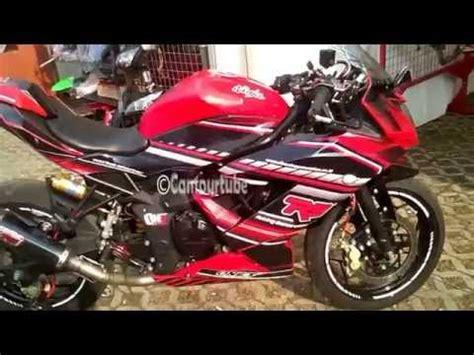 Knalpot Racing Yamaha R25 Akrapovic Pedrosa Carbon High Quality ganti knalpot slip on rr mono 250 cc doovi