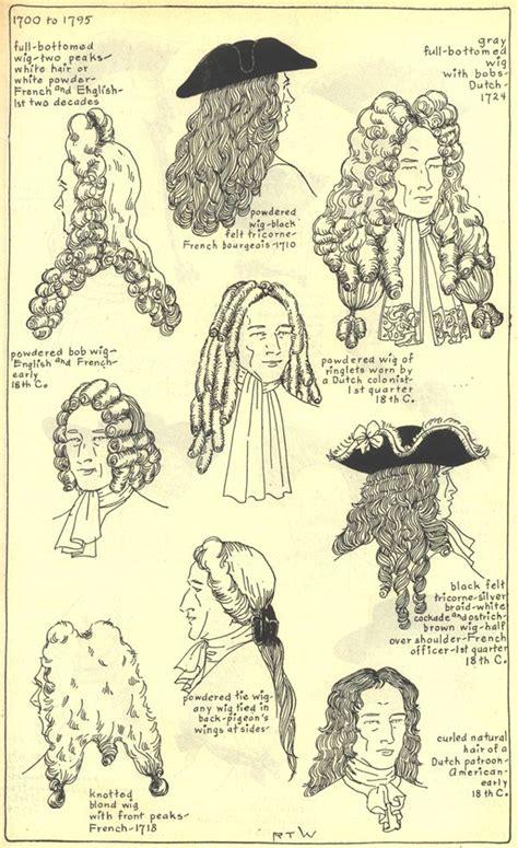 17th century hairstyles men 1700 30 s hair pinterest