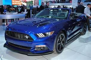 California Gt Price Detroit 2016 Ford Mustang Gt California Special Gtspirit