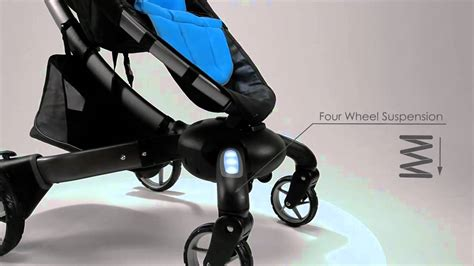 Origami Folding Stroller - meet the 4moms origami automatic folding stroller demo
