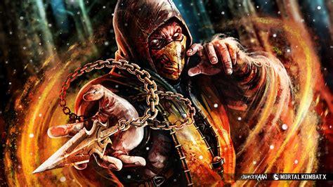 imagenes en hd de mortal kombat x scorpion mortal kombat x full hd fondo de pantalla and