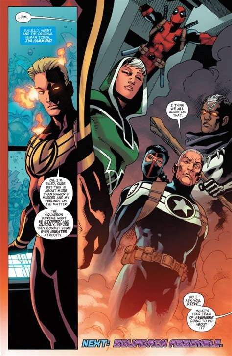 The Squadron the squadron supreme rock the all new marvel universe ign