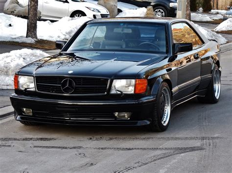1990 mercedes 560sec amg 6 0 widebody is badass but