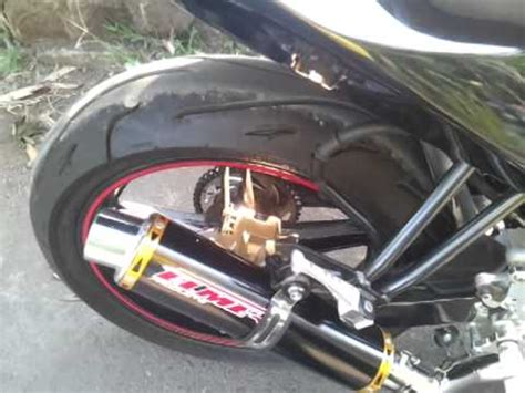 Knalpot Racing Proliner All New Cb150 knalpot racing new vixion lightning fz150i