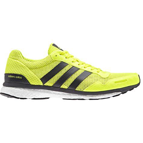 adidas s adizero adios running shoes yellow probikekit
