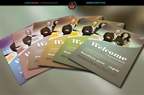 church  cover template flyer templates  creative market