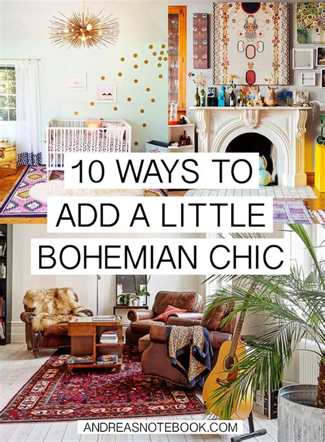 Bohemian Inspired Decorating 10 Ways To Add Bohemian Chic To Your Home Andreasnotebook Boho Chic Pinterest