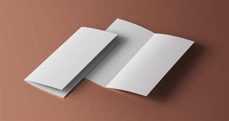 free bi fold business card template psd bi fold mockup template vol1 psd mock up templates