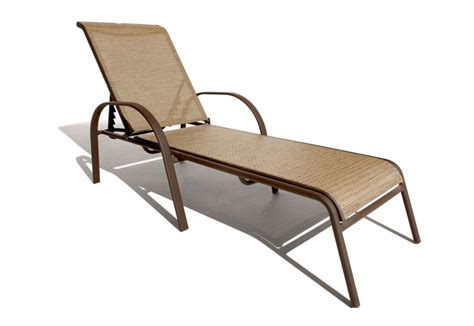 Lounge Lawn Chairs by Strathwood Rawley Textilene Chaise Lounge