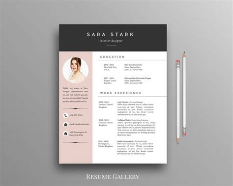Creative Cv Templates Free by Best 25 Free Cv Template Word Ideas On Cv