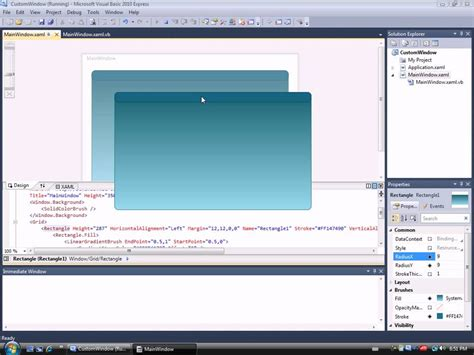 xaml custom layout wpf custom draggable window youtube