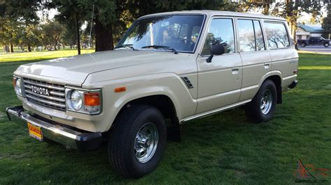 1981 Toyota Land Cruiser 1981 Toyota Land Cruiser Fj60 Immaculate Original